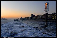 Eiszeit in Hamburg - Ice age in Hamburg