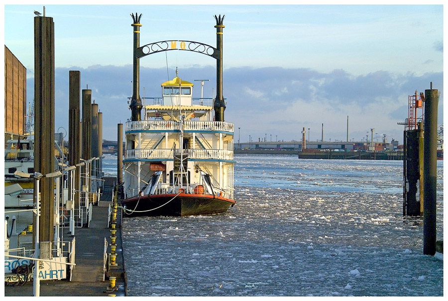 Eiszeit in Hamburg, oder ...