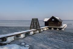 Eiszeit in Tutzing am Starnberger See