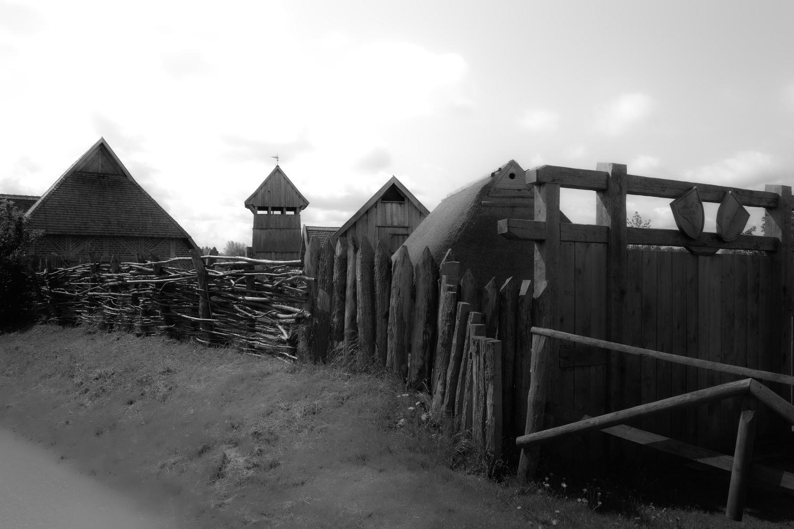 Eiszeit Siedlung