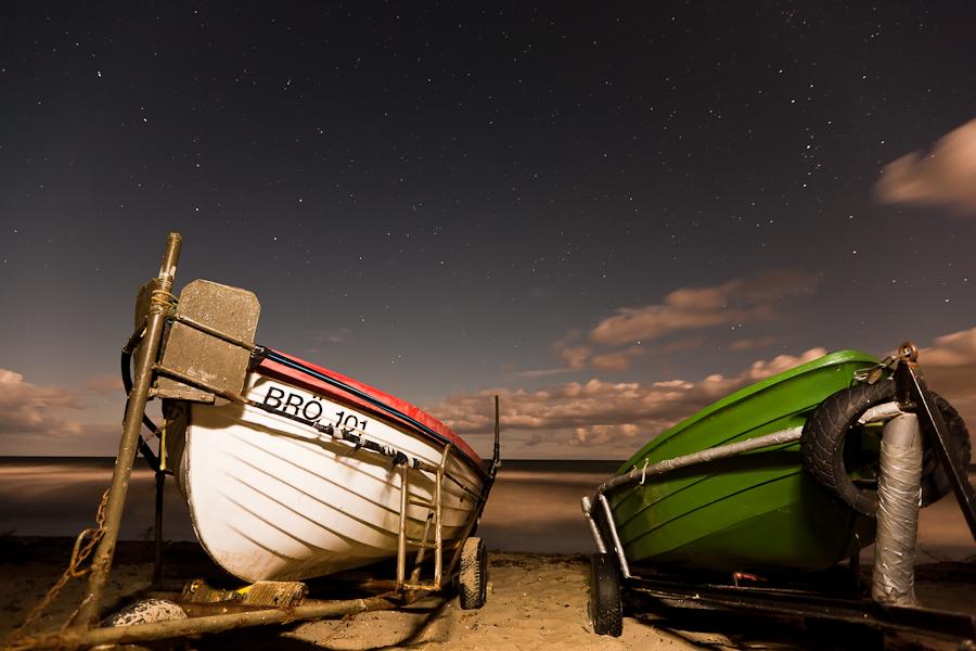 Eitz - Nachts am Meer