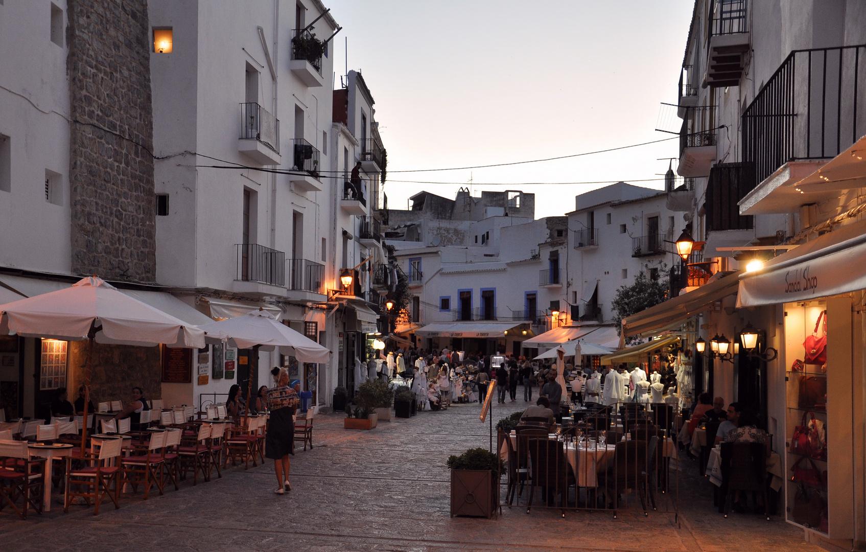 Eivissa / Ibiza : Placa de Vila