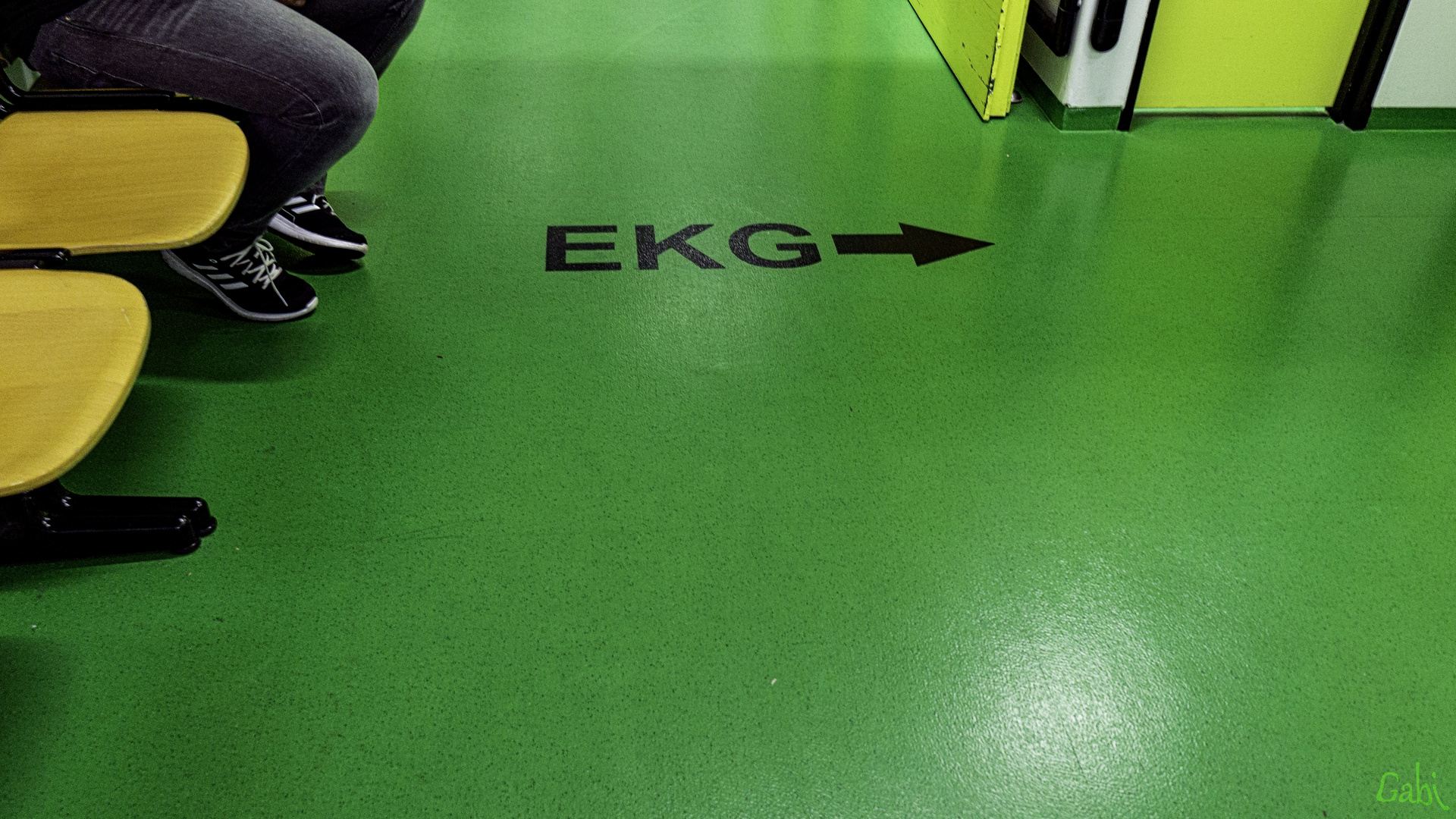 EKG - Er Kann (Gleich) Gehen!