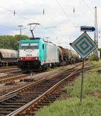 """""""El 6 - Halt für Fahrzeuge mit gehobenem Stromabnehmer """" ...."""
