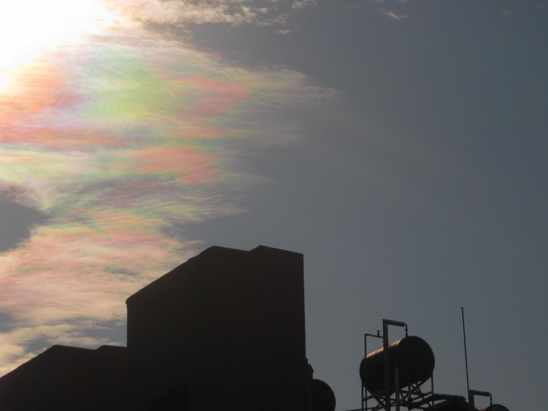 El arcoiris de las nubes