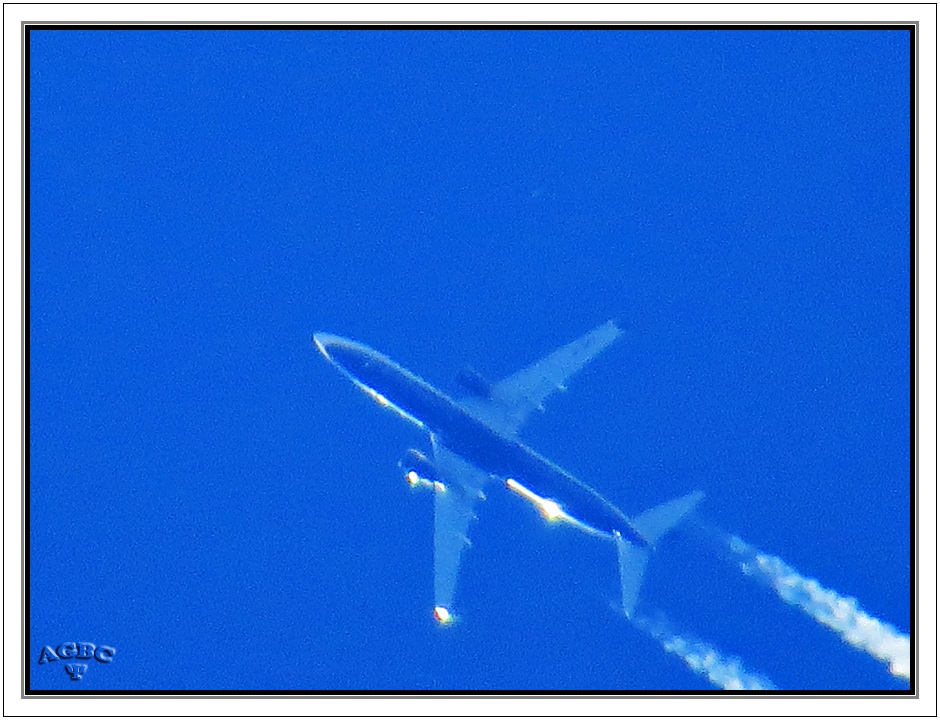 El avión transparente