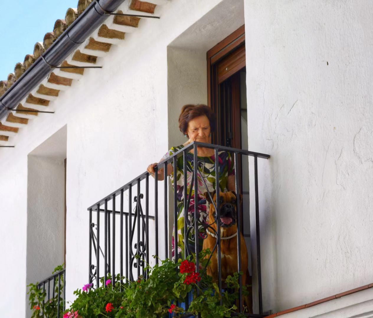 El Balcon.