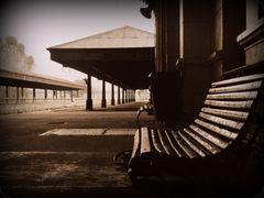 El banco de la estación