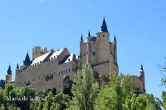 El barco.     Alcazar de Segovia