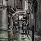 El brillo de la lluvia