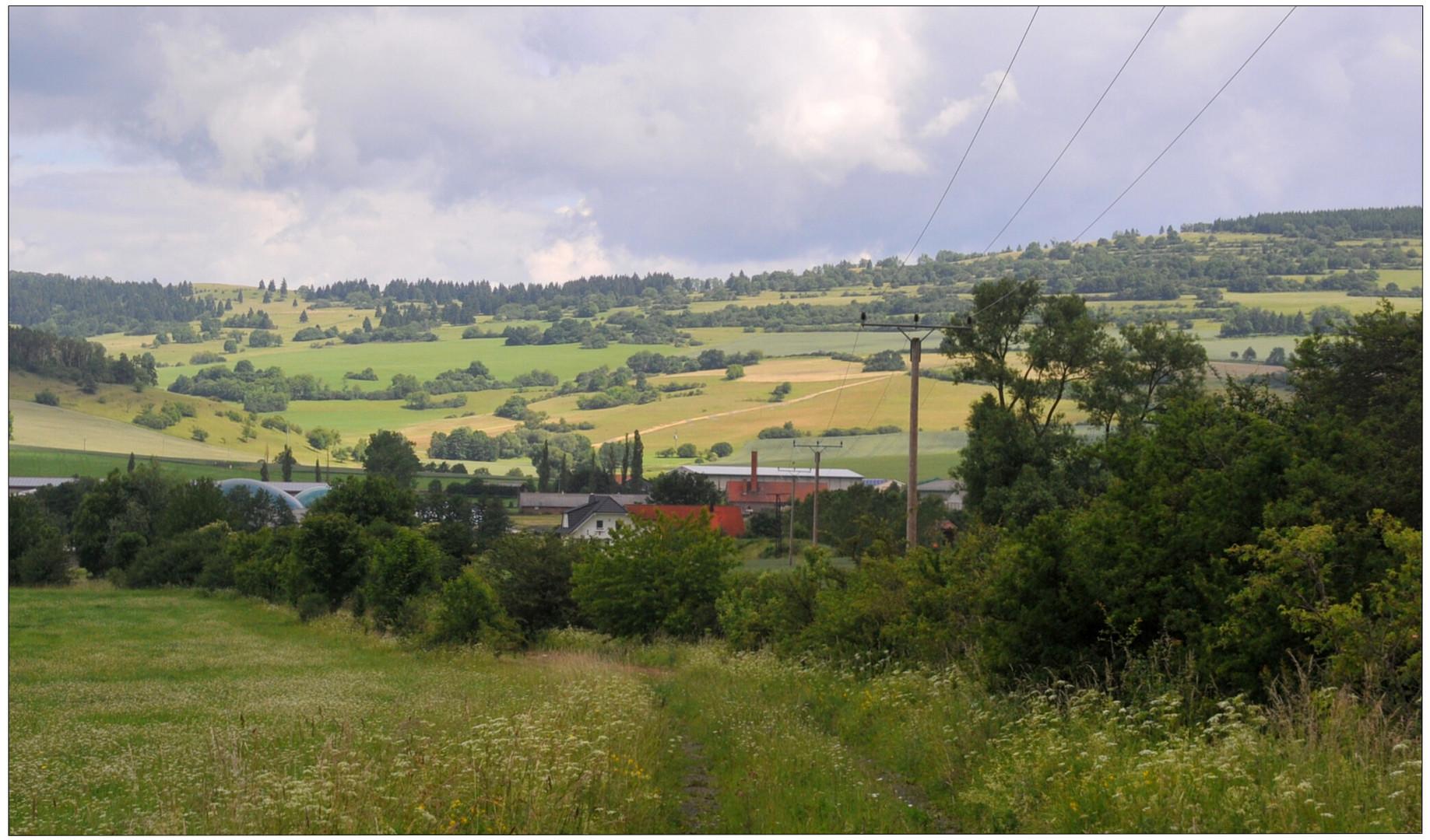 El camino al lago (der Weg zum See)