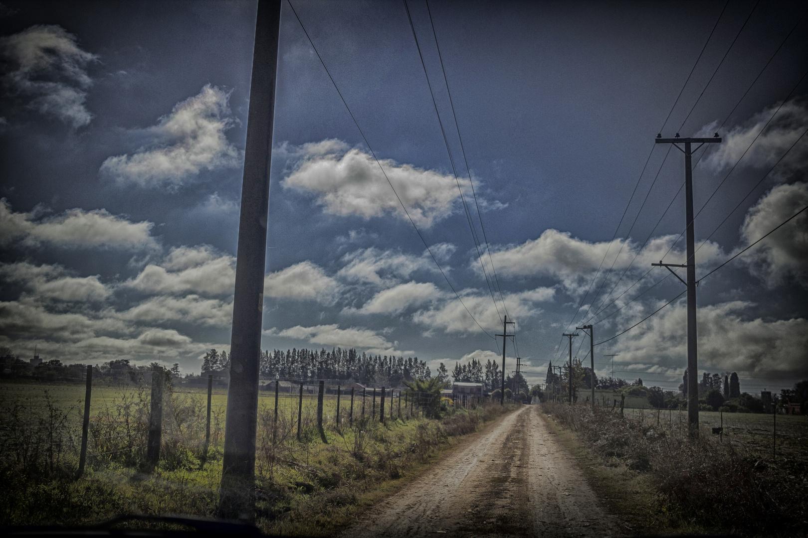 El camino de tierra