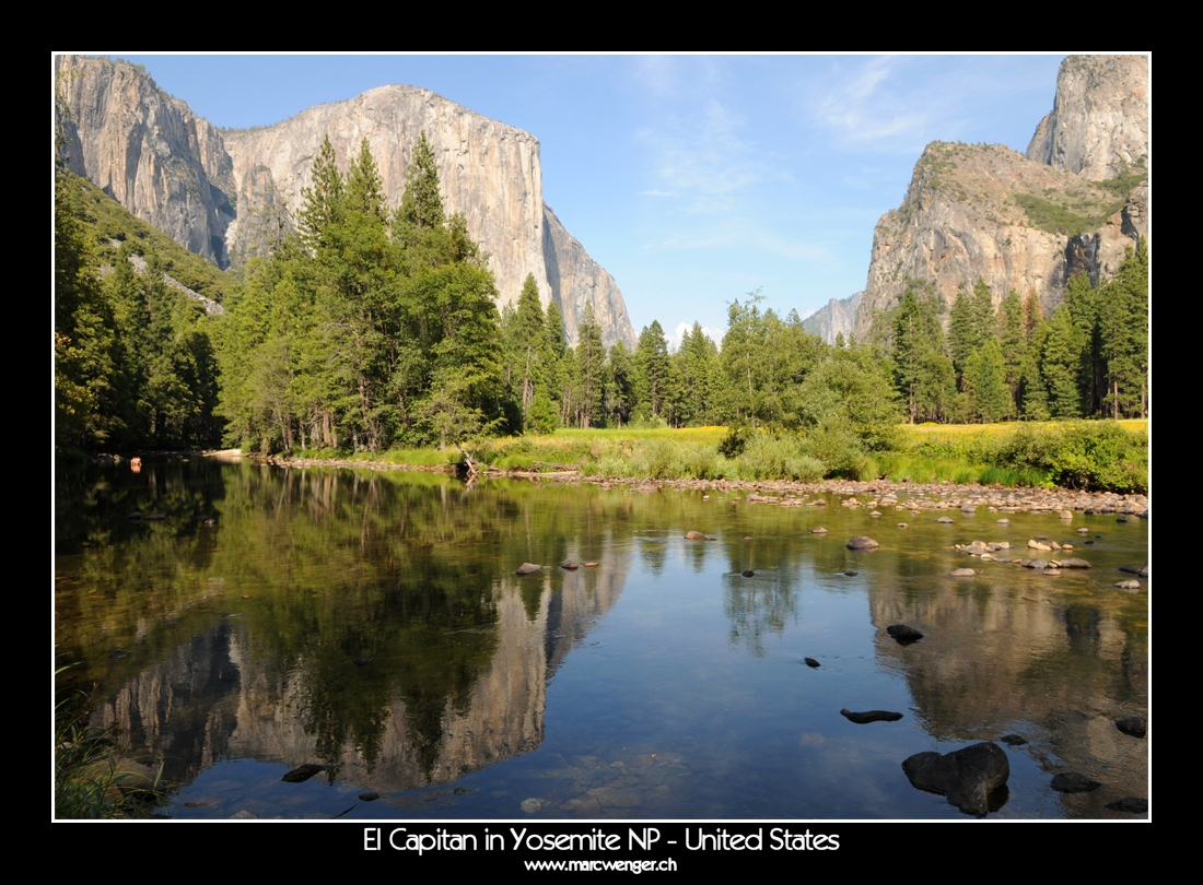 El Capitan in Yosemite NP - Unites States