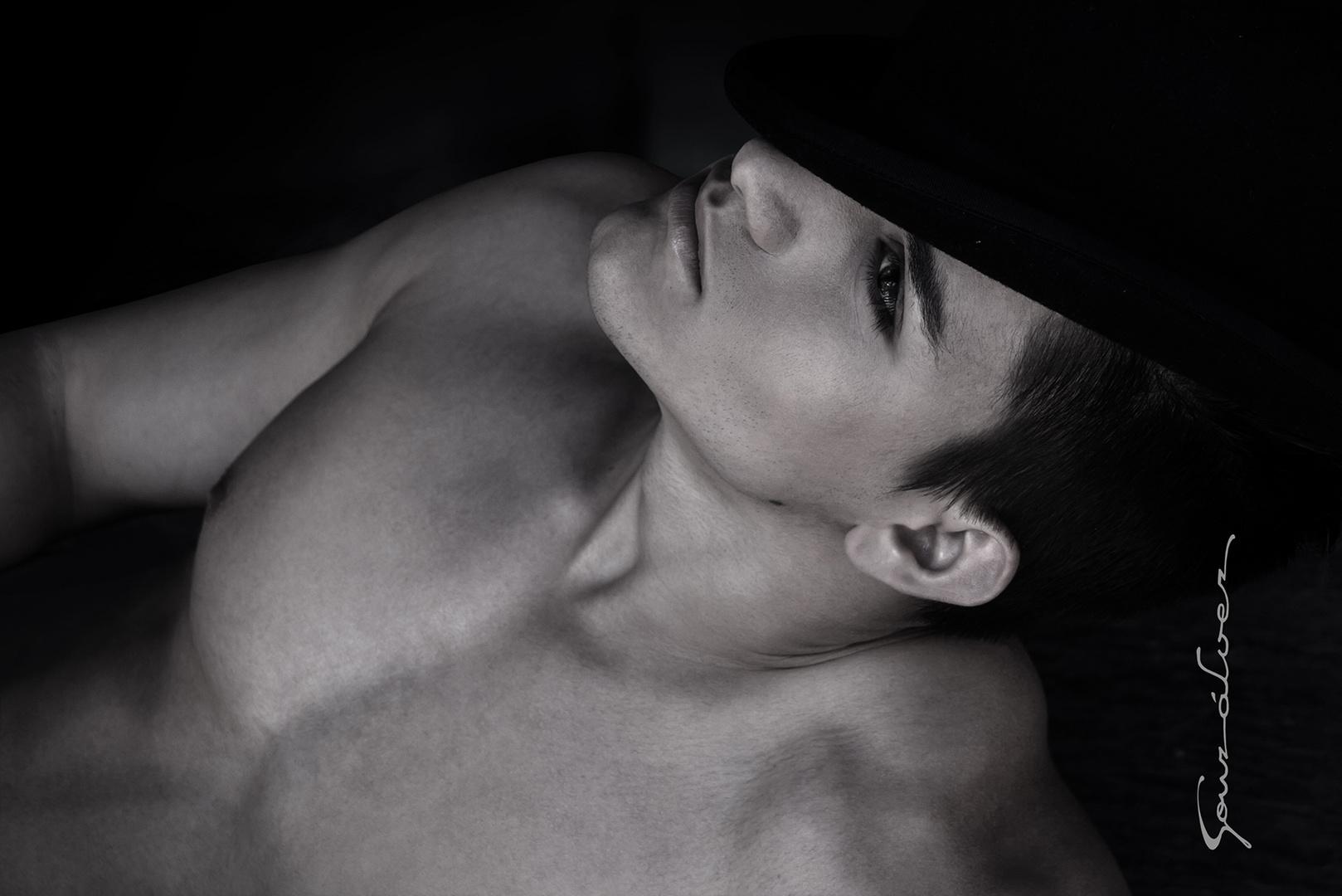 El chico del sombrero