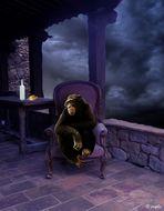 El chimpancé melancólico