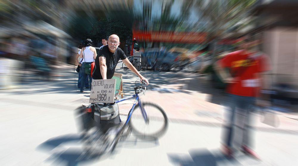 El ciclista.
