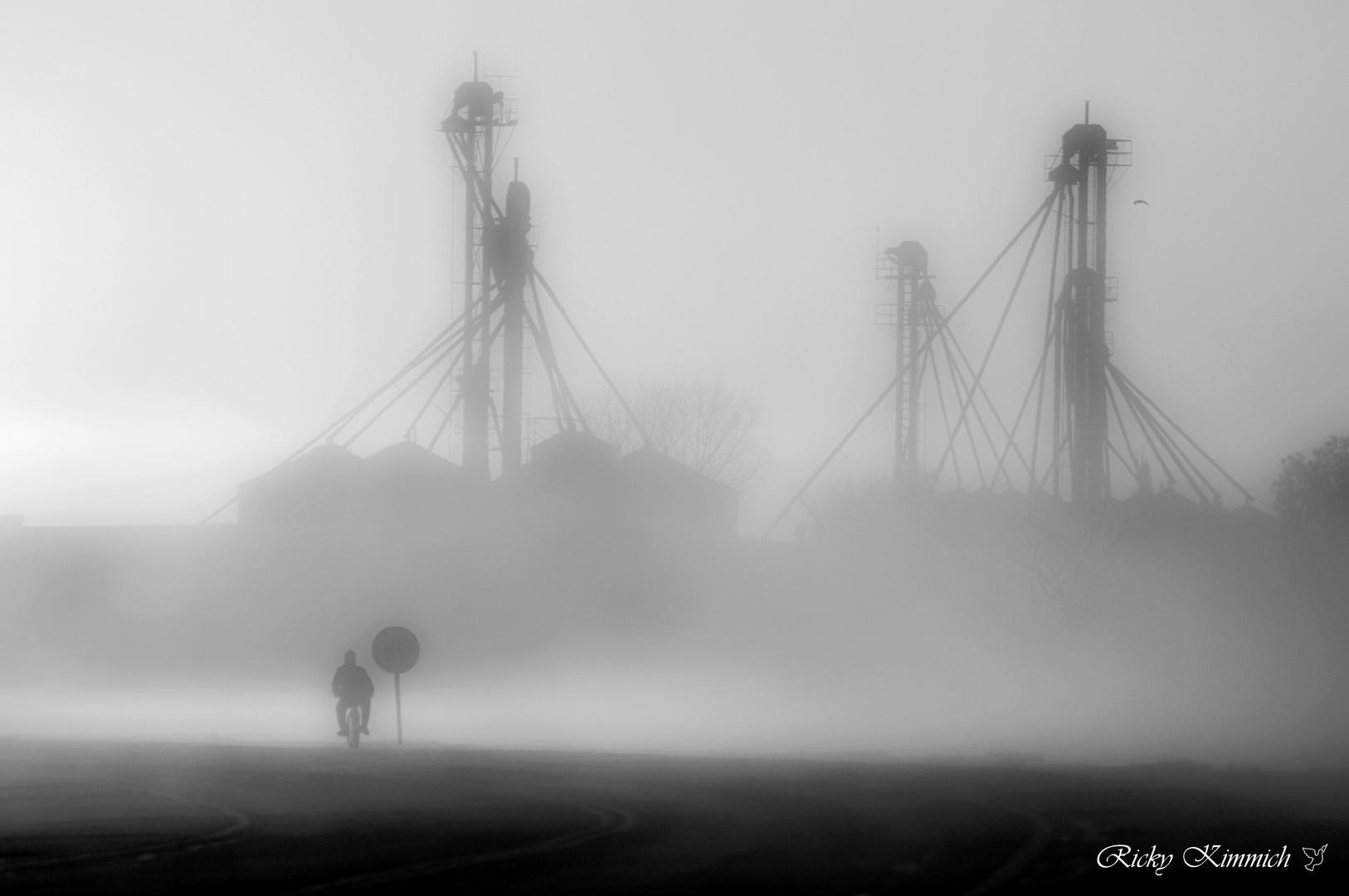 El Ciclista en la Niebla