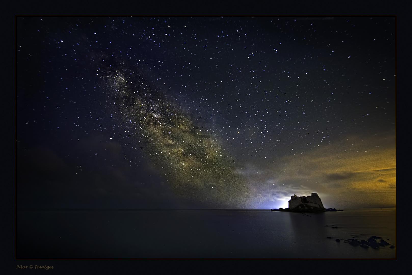 El cielo se llenó de estrellas