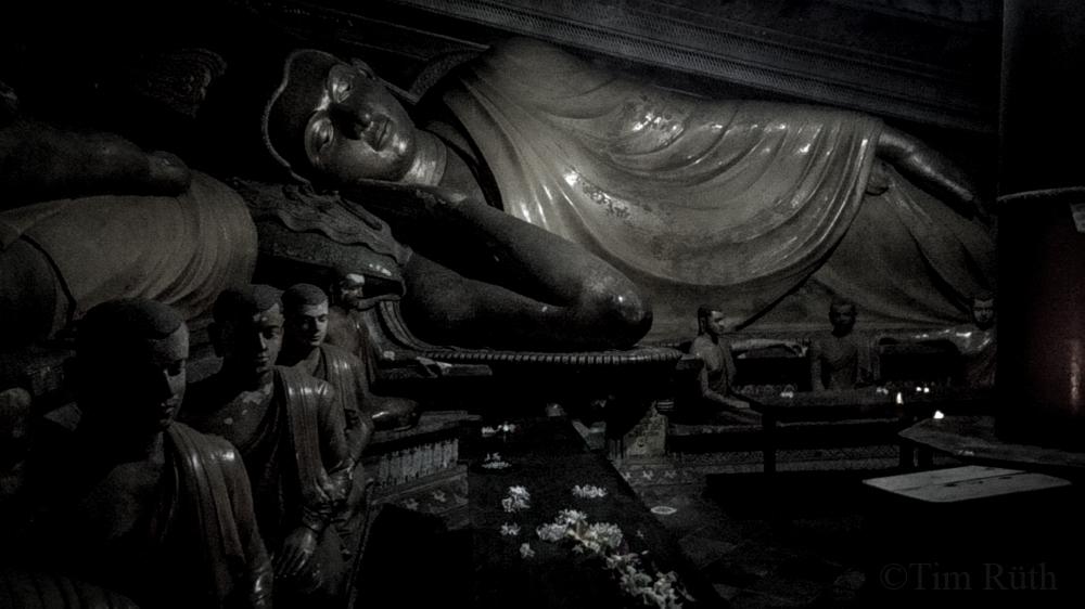 El descanso del Buda