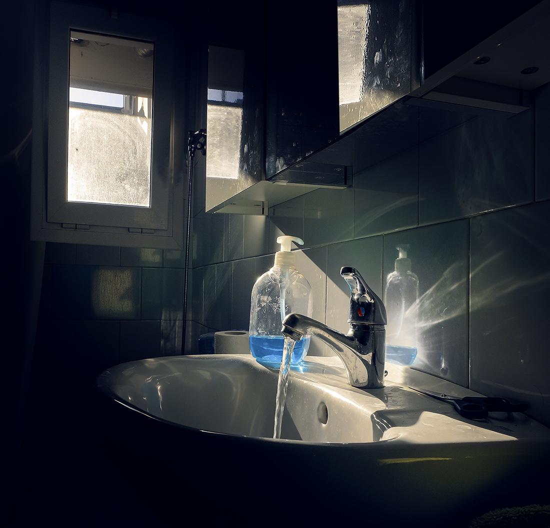 """"""" El día que el sol entró por la ventana del baño"""" Para Ramón"""