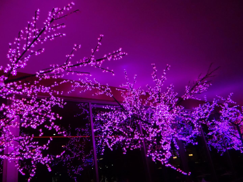 El exterior de un Restaurante Japonés