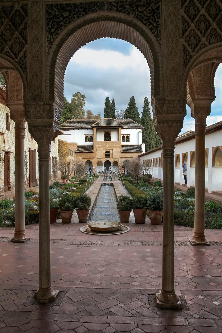 El Generalife de Granada
