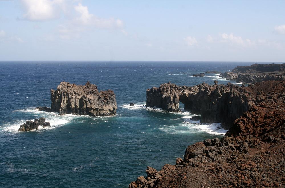 El Golfo: Wilde Felsenküste!