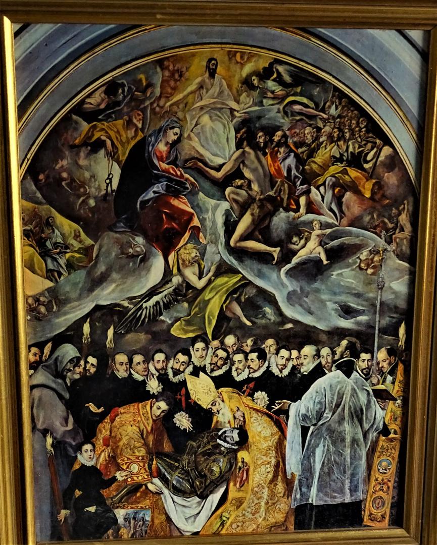 el Greco, el entierro del Conde  Orgaz