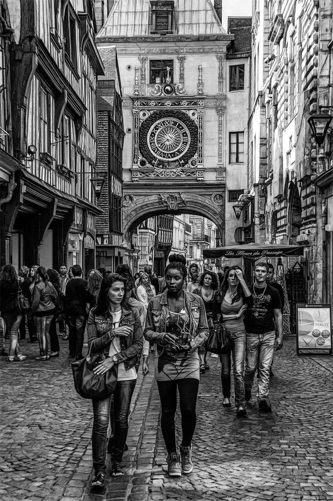 El Gros Horloge de Rouen