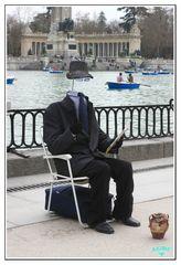 El hombre invisible de El Retiro (Madrid)