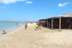 El juego en la playa
