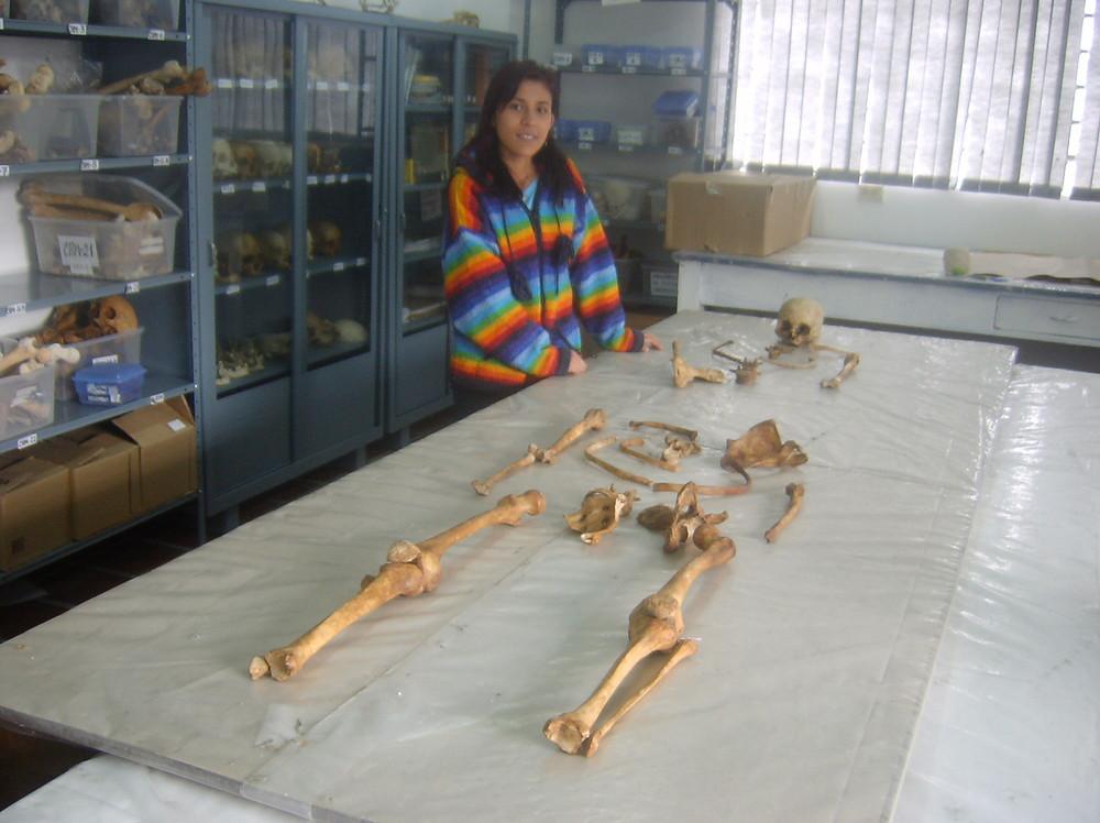 el laboratorio de natropologia biologica
