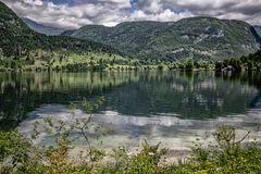 El lago de Bohinj
