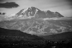 El majestuoso Chimborazo