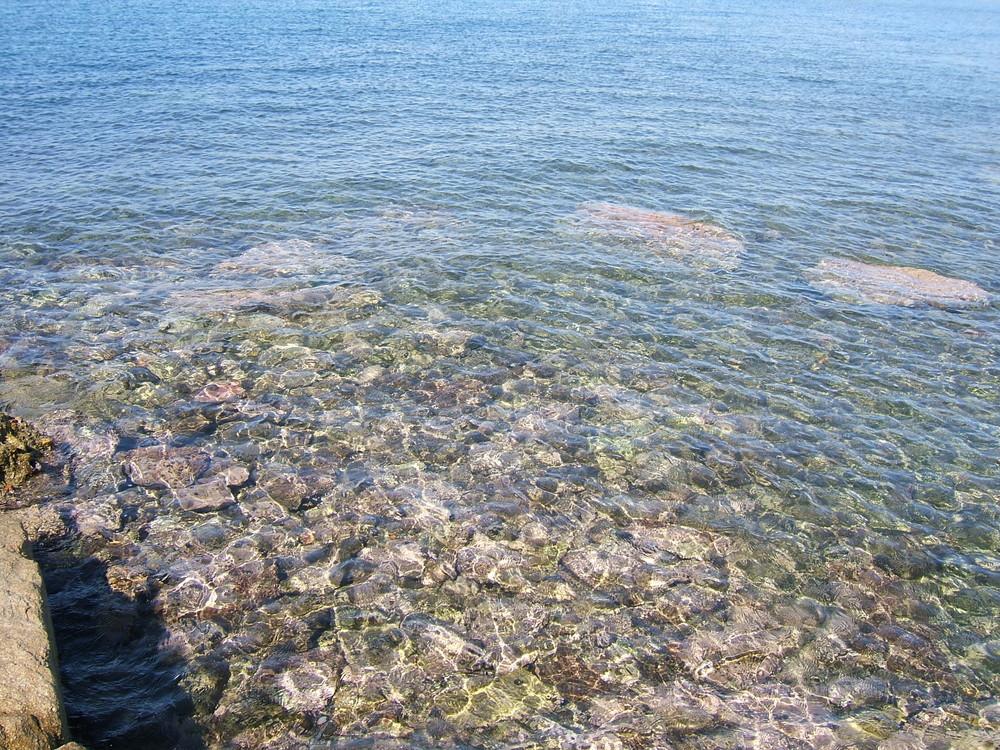 El mar cerca de Saint-Tropez