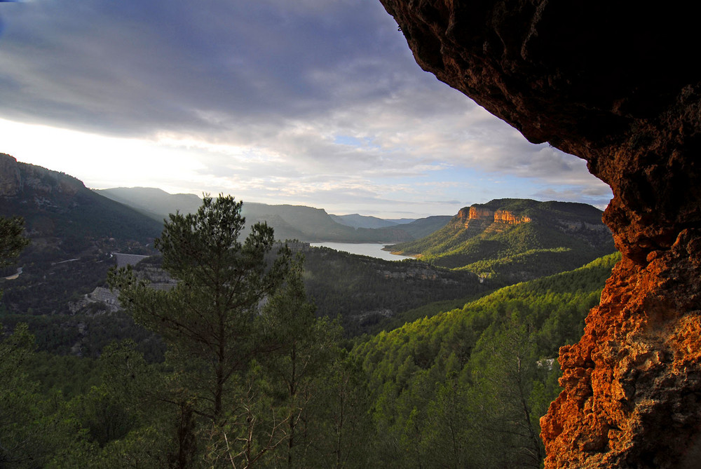 El Ocho de Budda klettergebiet in Spanien.