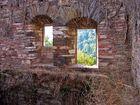 el otoño empieza tras la ventana