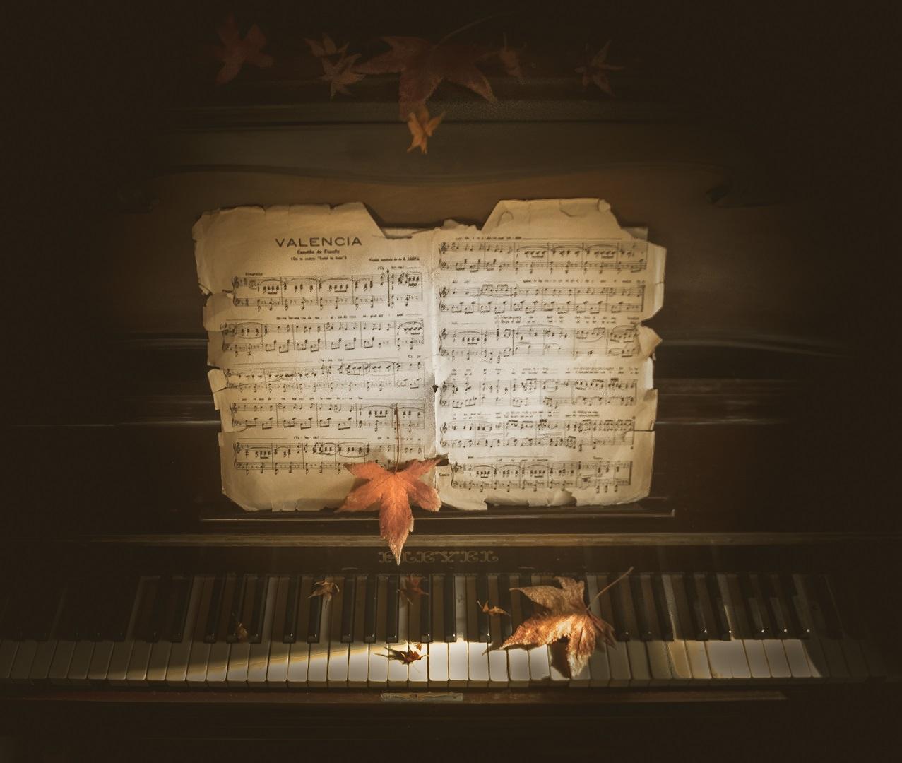 El otoño en mi piano
