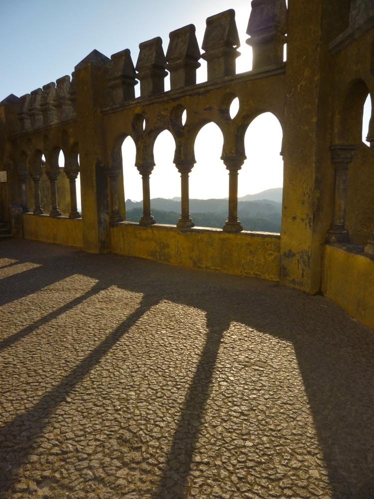 El Palacio da Pena en Sintra, Portugal