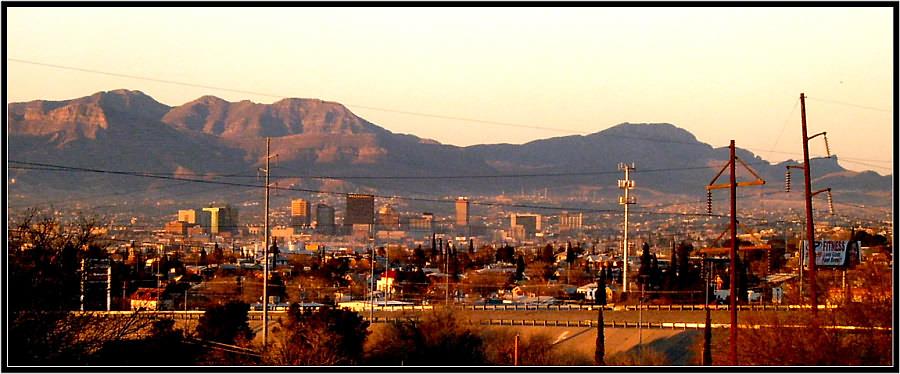 El Paso , Texas (Downtown View)