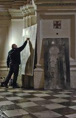 El pintor de la catedral de granada