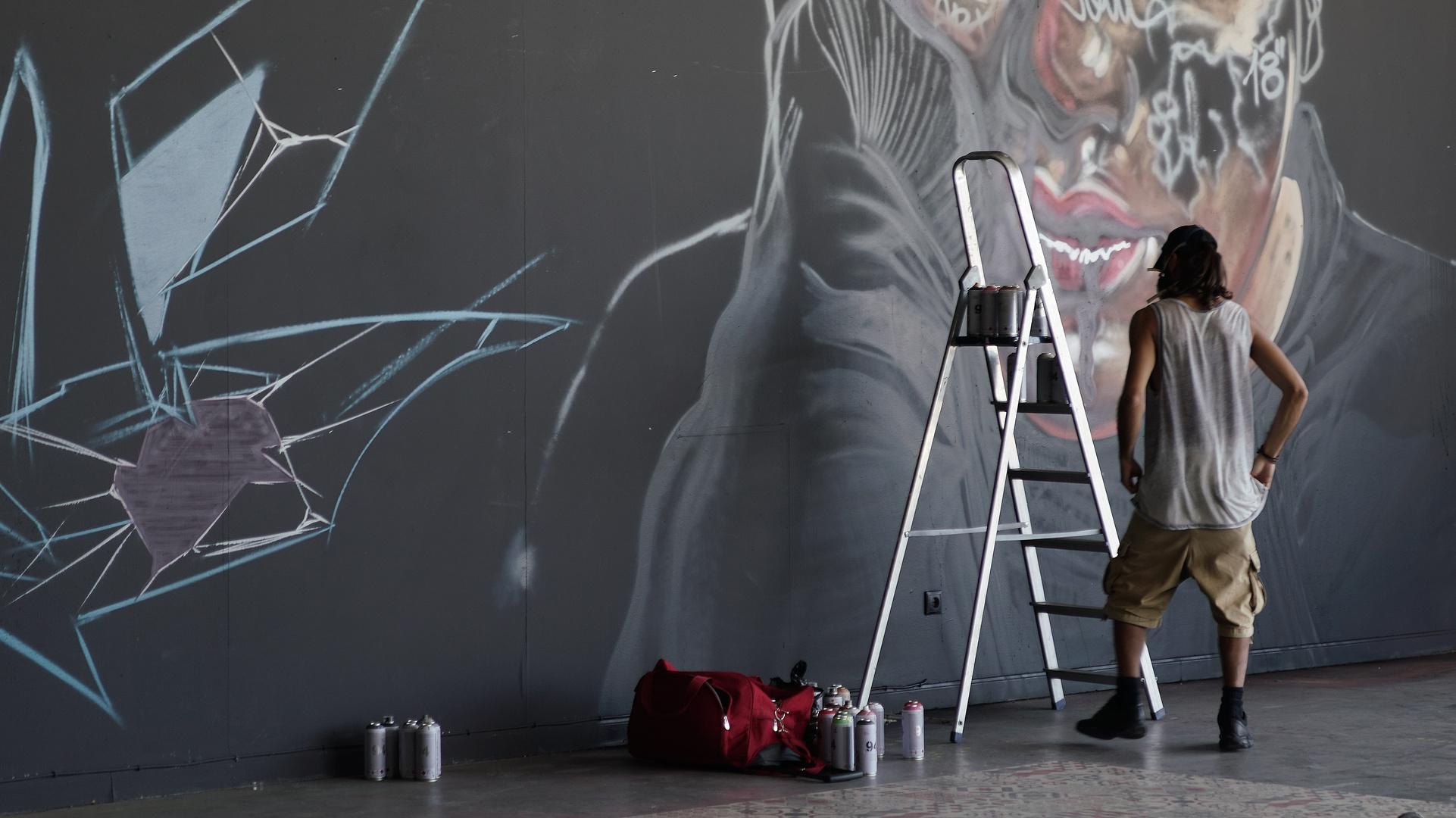 El pintor frente a su obra