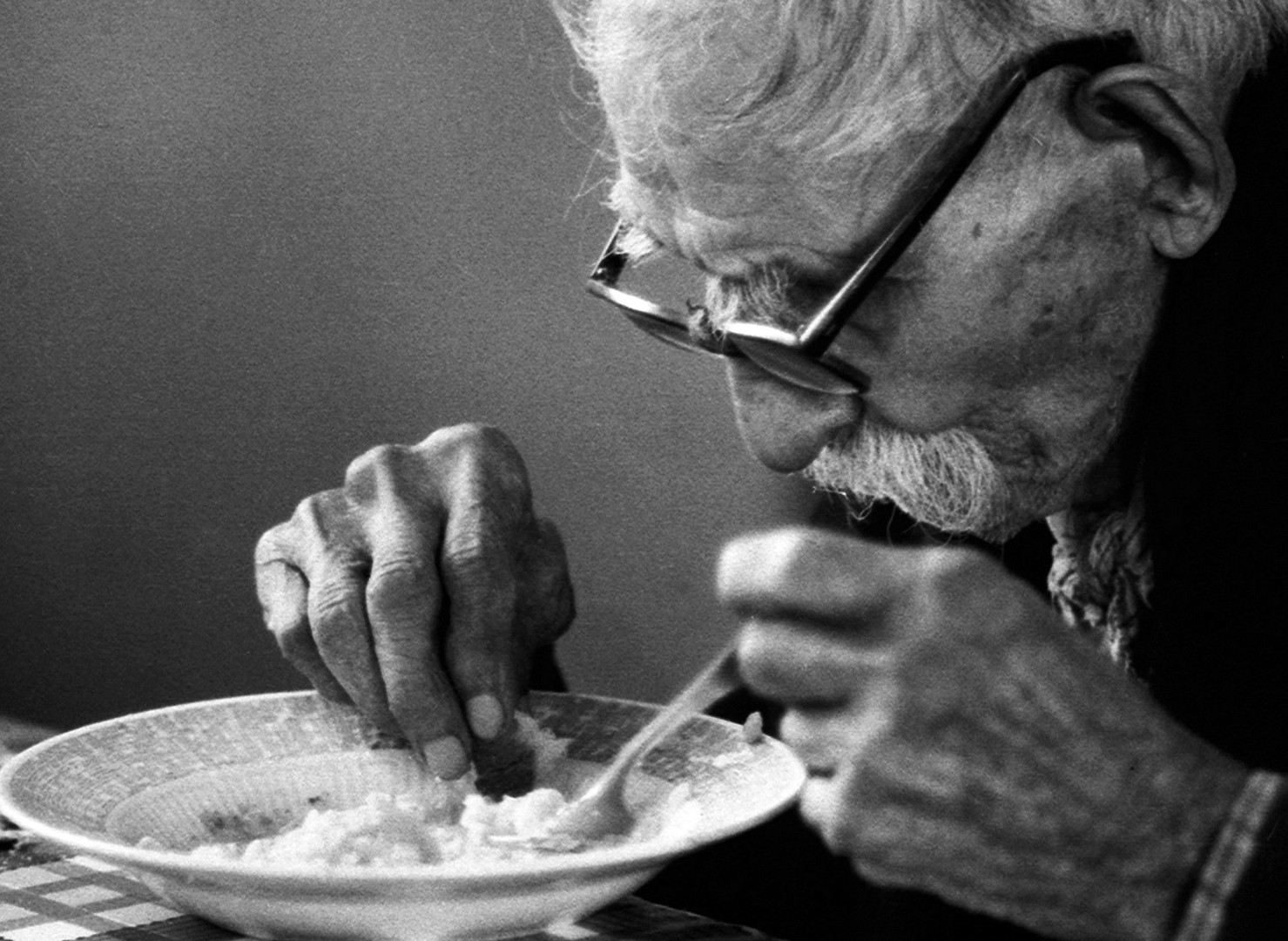 El plato de arroz.