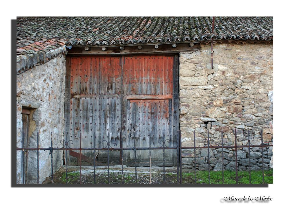 El portón....
