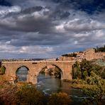 El puente de Alcántara (Toledo)