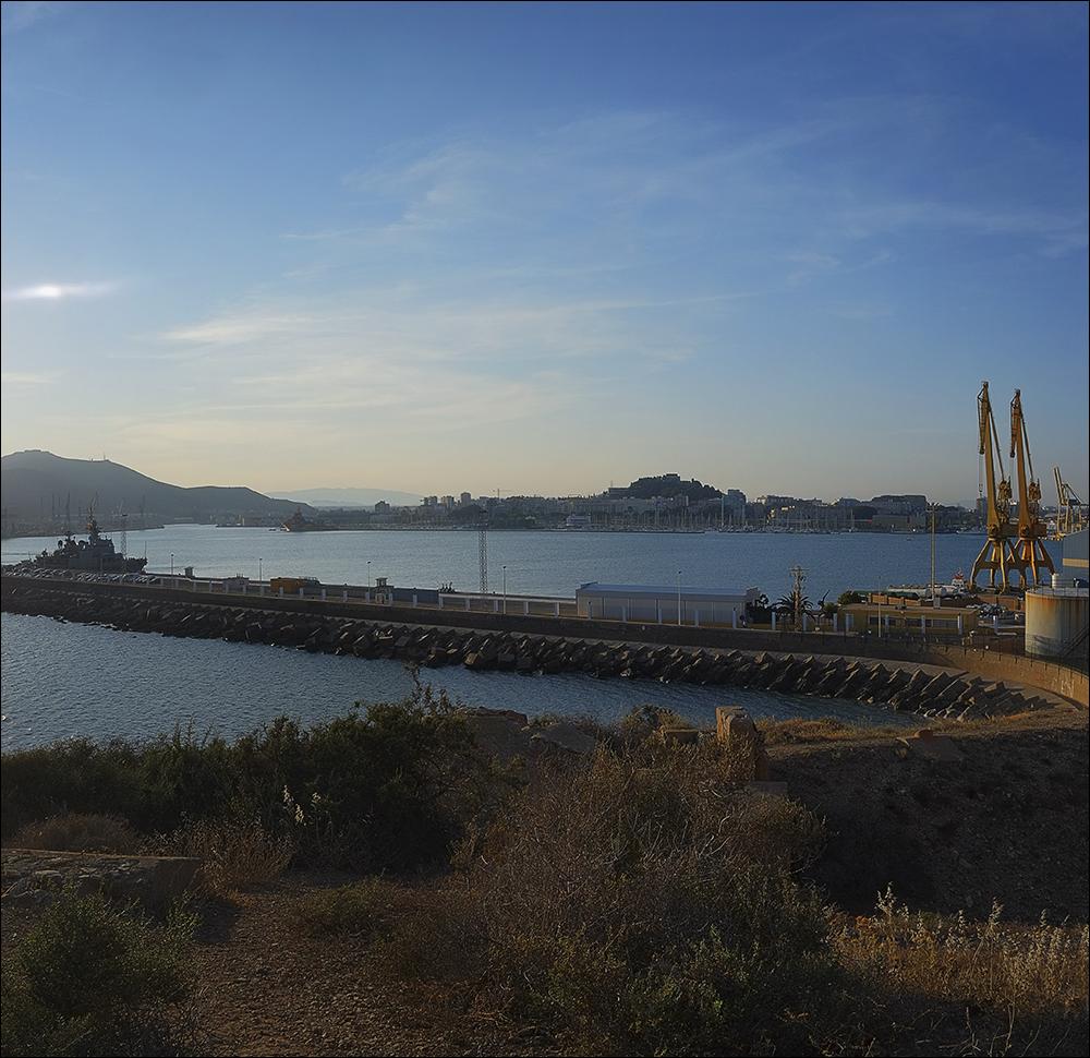 El puerto... Desde otro punto de vista