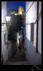 El regreso... con La Alhambra iluminada