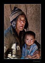 El rostro de la miseria...