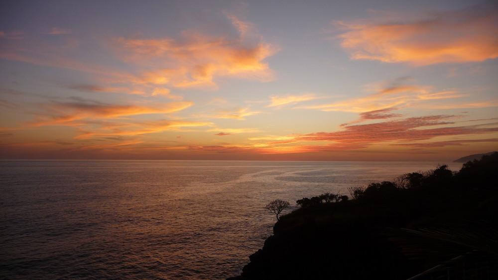 El salvador sunset