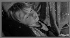 El sueño de la princesa en blanco y negro